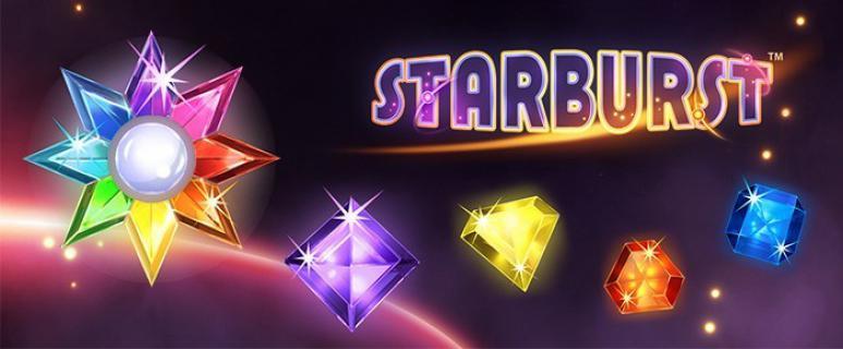 Starburst slot banner